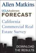 Allen Matkins/UCLA Anderson Forecast California Commercial Real Estate Survey