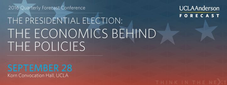 September 2016 Economic Outlook :: Economics of the Presidential Election